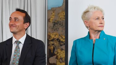 Liberal candidate Dave Sharma and independent MP Kerryn Phelps will face off again in Wentworth.