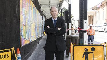 Australian Building and Construction Commissioner Stephen McBurney.
