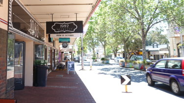 Subiaco's still quiet, but it's hoped the redevelopment of the Pavilion Markets will turn its fortunes around.