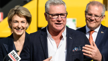 Scott Cam was named as the government's 'careers ambassador' by Michaelia Cash and Scott Morrison last year.