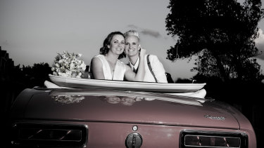 Just married: Couples can say 'I do' via drive-through from today, with a new service launching in WA.