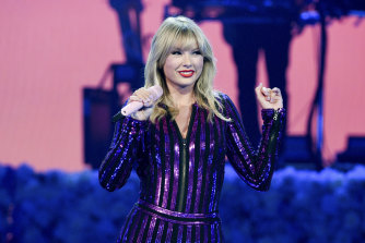 Taylor Swift's new album will be released at 2pm on Friday.