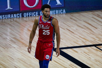 Simmons had missed the Sixers' last eight games before the NBA shutdown with a back complaint.