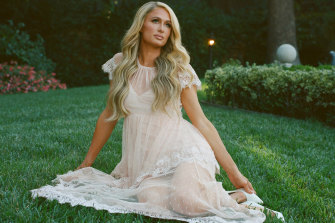 Paris Hilton says she is finally ready to be herself.