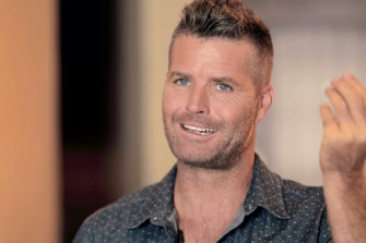 Pete Evans in his film The Magic Pill.