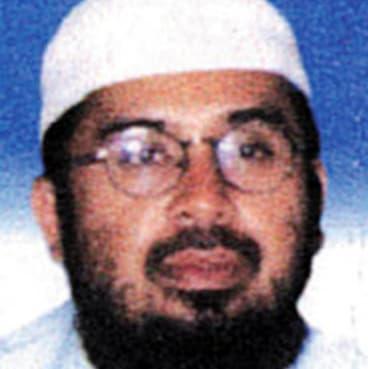 Bali bombing mastermind Riduan Isamuddin, aka Hambali, also known as Hambali.