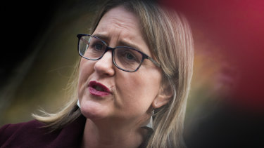 Jacinta Allan says the state government has no interest in reviving the East West Link.= project.
