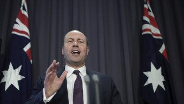 In her budget speech, the Queensland Treasurer takes a swipe at her federal counterpart Josh Frydenberg.