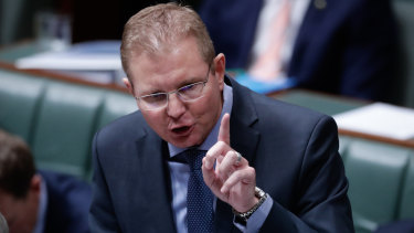 Workplace Minister Craig Laundy.