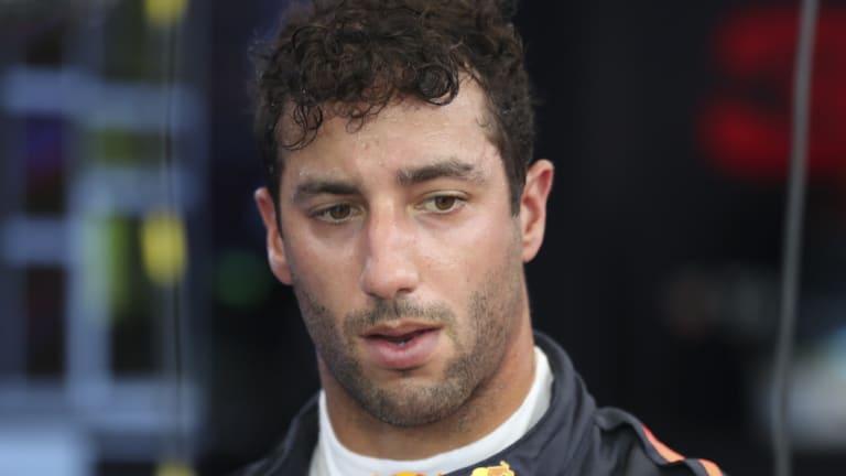 Starting from the bottom: Daniel Ricciardo.