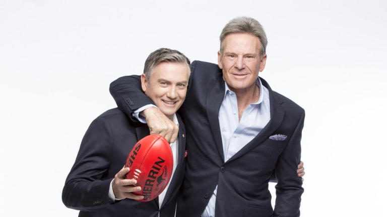 Eddie McGuire and Sam Newman remain fast friends. McGuire's company JAM TV is contracted to produce the show for Nine.