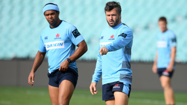 Combinations: The Waratahs have used endless partnerships in the back line but admit it's having an impact on their scorelines.
