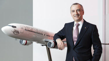 Virgin CEO John Borghetti improved the airline's underlying profitability, but its share price doesn't reflect that.