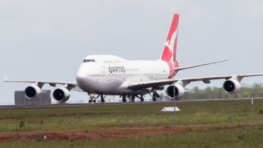Qantas could be part of an emergency effort to retrieve tens of thousands of Chinese students.
