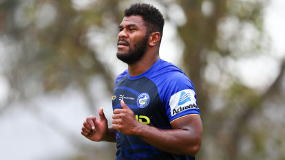 Sivo's season under cloud despite return to Eels training