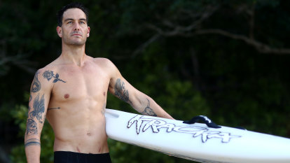 Poole's ripper vaccine analogy not enough to get world champion surfer on board
