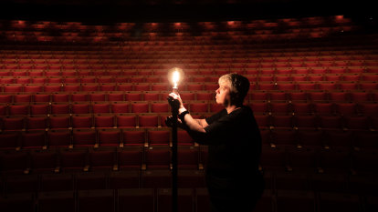 Ghostly tradition leaves lights flickering at empty theatres