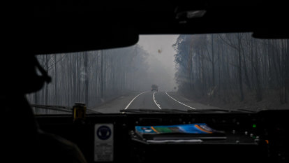 The ghost road to Mallacoota
