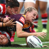Broncos outclass Roosters in NRLW grand final preview