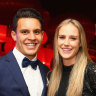 Sporting stars Ellyse Perry and Matt Toomua split after five years of marriage