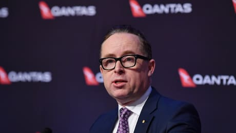 Qantas CEO Alan Joyce wants to be able to arbitrate with airports.