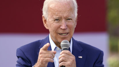 Hours before debate, Biden releases tax returns and urges Trump to do so too