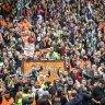 Unions' election effort holding firm despite CFMEU dramas