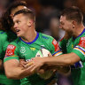 'He couldn't go anywhere': Controversial send-off clouds Canberra's win over Broncos
