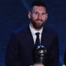 Messi sets record as Rapinoe, Klopp also snare FIFA awards