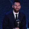 Messi sets record as Rapinoe, Klopp also snare FIFA awards