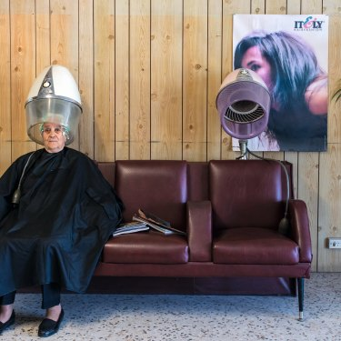 A hair salon with old-world charm in Reservoir.