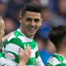 Tom Rogic scores for Celtic in memorable Old Firm derby at Ibrox