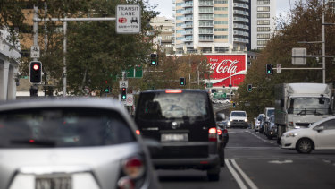 There were 87 million car movements per day on average across Sydney this week.