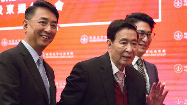 Lee Shau-Kee's property empire is now in the hands of his two sons.