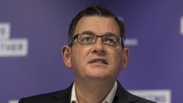Victorian Premier Daniel Andrews has announced a staged return of students to schools.