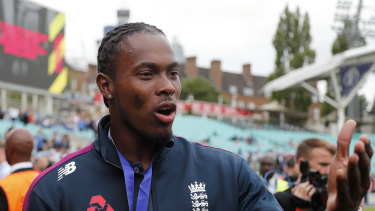 Jofra Archer is one of England's big hopes in the second Test at Lord's.