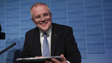 "Treasurer Scott Morrison has accused digital and social media companies of ""ripping out a big part of our tax base""."