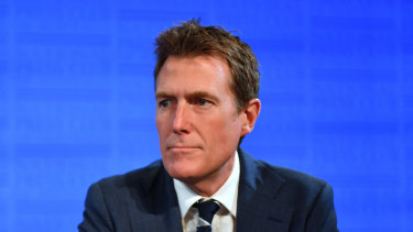 Attorney-General Christian Porter said Facebook and other social media giants should be regarded as publishers.