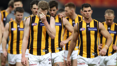 Hawthorn's fightback on Sunday was short-lived.