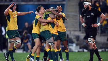 The Wallabies open their quest to make it a hat-trick of Rugby Championship titles in World Cup years when they face South Africa in Johannesburg.