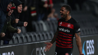 Kwame Yeboah scored the winner against Wellington on Friday night and has been rewarded with a starting spot against Perth.