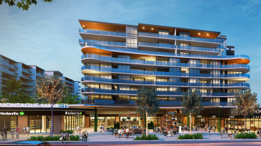 Woolworths will be the anchor tenants at Pradella's Montague Markets development in West End.