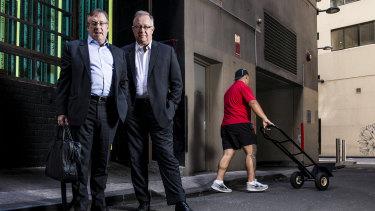 Judo Bank co-founders Joseph Healy and David Hornery.