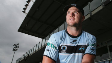 Underrated: Cronulla halfback Chad Townsend.