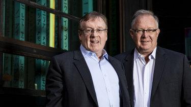 Founders of Judo Bank, Joseph Healy and David Hornery.