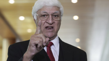 "MP Bob Katter: ""It is infinitely more stupid now""."