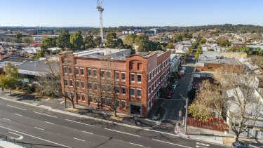 United Petroleum's Hoddle Street headquarters are now vacant and the historic shoe factory is on the market.