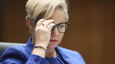 AUSTRAC chief executive Nicole Rose has apologised for the error.