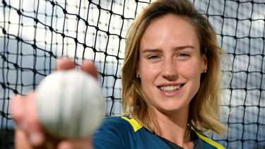 Ton up: Ellyse Perry will reach 100 appearances in T20 cricket, a feat she has already claimed in ODIs.