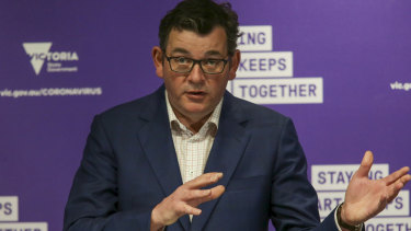 Victorian Premier Daniel Andrews has flagged the crisis response to COVID-19 aged care outbreaks will be wound back.